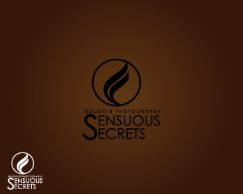 Logo Design by Private User - Entry No. 75 in the Logo Design Contest Artistic Logo Design for Sensuous Secrets Boudoir Photography.