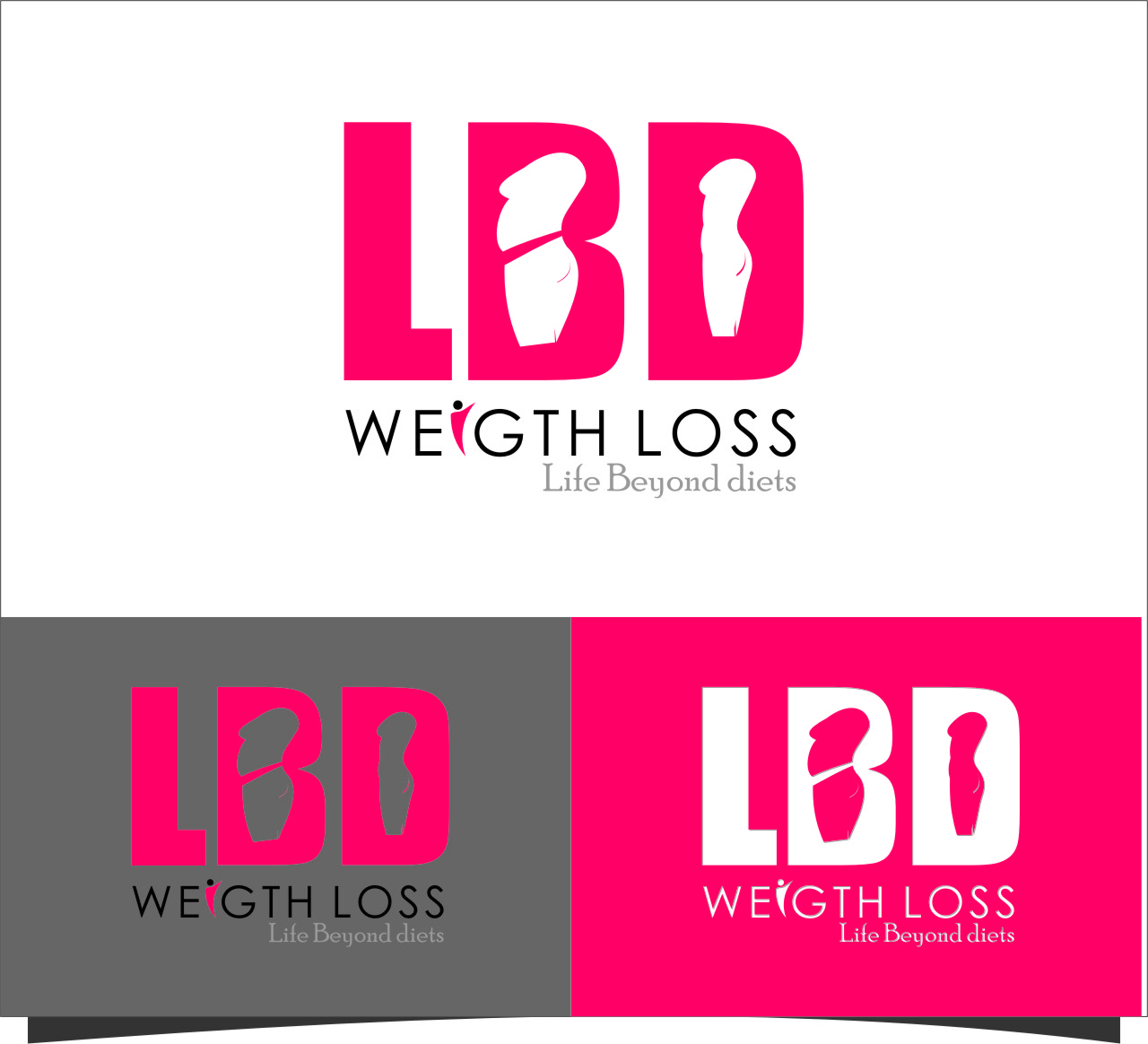 Logo Design by RoSyid Rono-Rene On Java - Entry No. 31 in the Logo Design Contest Imaginative Logo Design for LBD Weight Loss.