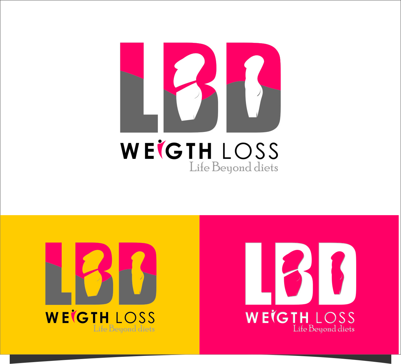 Logo Design by RasYa Muhammad Athaya - Entry No. 32 in the Logo Design Contest Imaginative Logo Design for LBD Weight Loss.