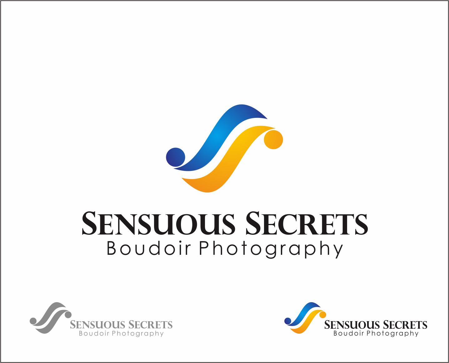 Logo Design by Armada Jamaluddin - Entry No. 108 in the Logo Design Contest Artistic Logo Design for Sensuous Secrets Boudoir Photography.