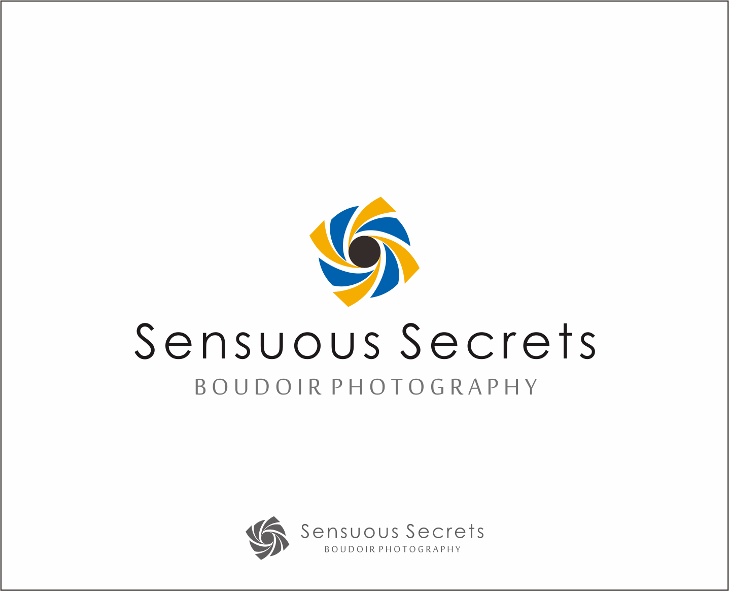 Logo Design by Armada Jamaluddin - Entry No. 111 in the Logo Design Contest Artistic Logo Design for Sensuous Secrets Boudoir Photography.