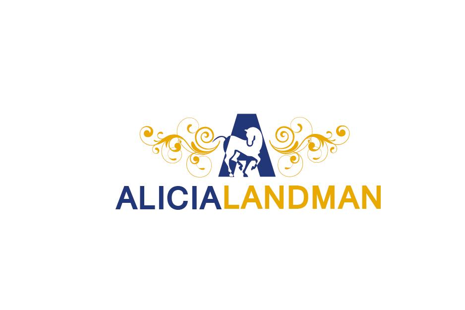 Logo Design by Private User - Entry No. 104 in the Logo Design Contest Fun Logo Design for Alicia Landman.
