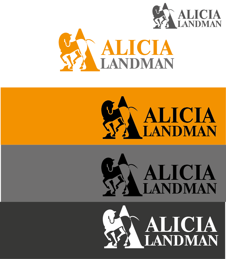 Logo Design by Private User - Entry No. 105 in the Logo Design Contest Fun Logo Design for Alicia Landman.