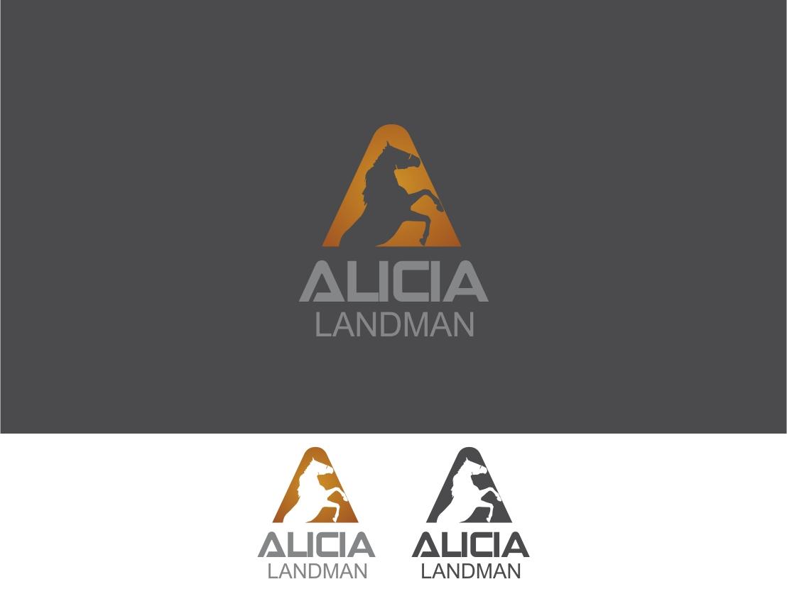 Logo Design by Rizwan Saeed - Entry No. 106 in the Logo Design Contest Fun Logo Design for Alicia Landman.