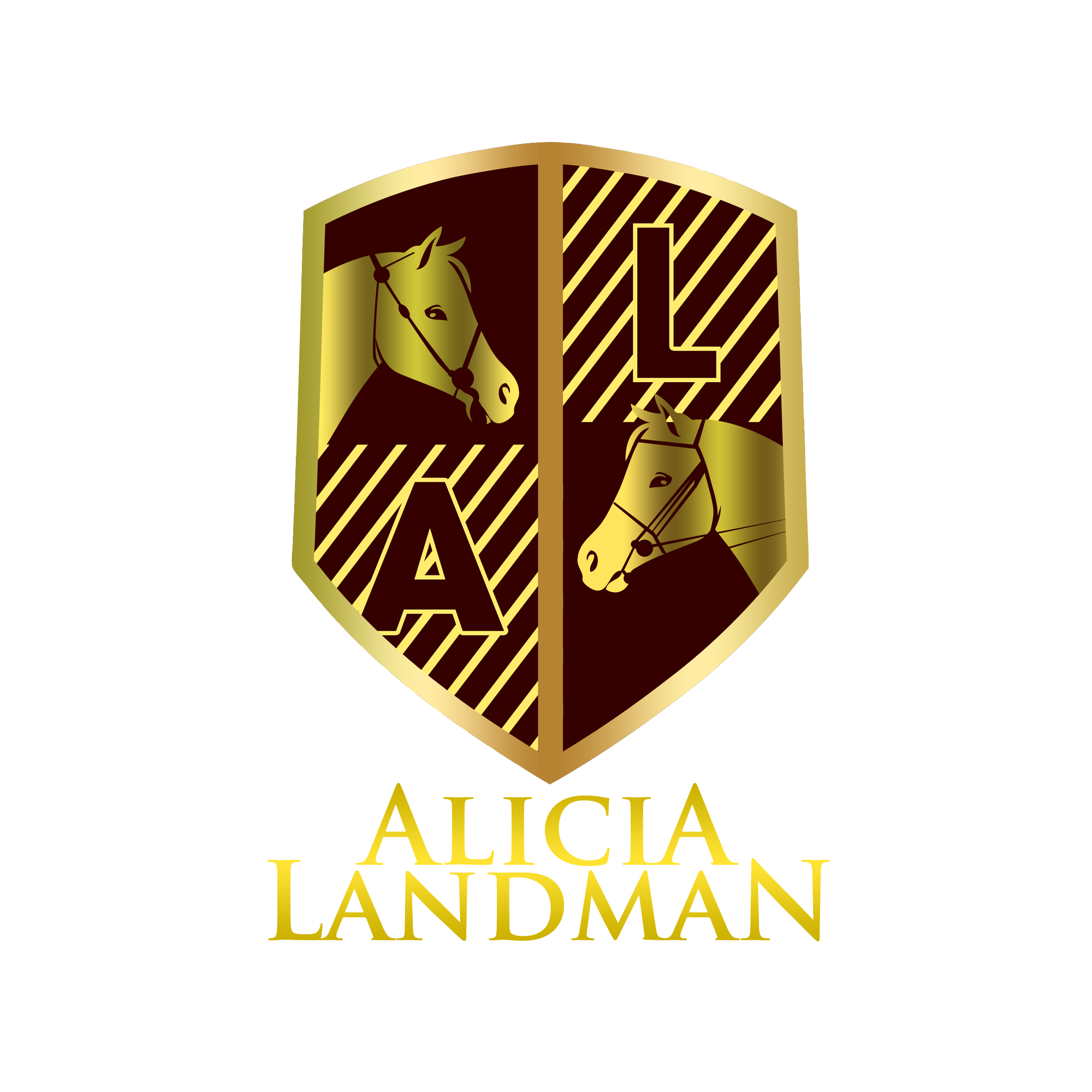 Logo Design by Kenneth Joel - Entry No. 107 in the Logo Design Contest Fun Logo Design for Alicia Landman.
