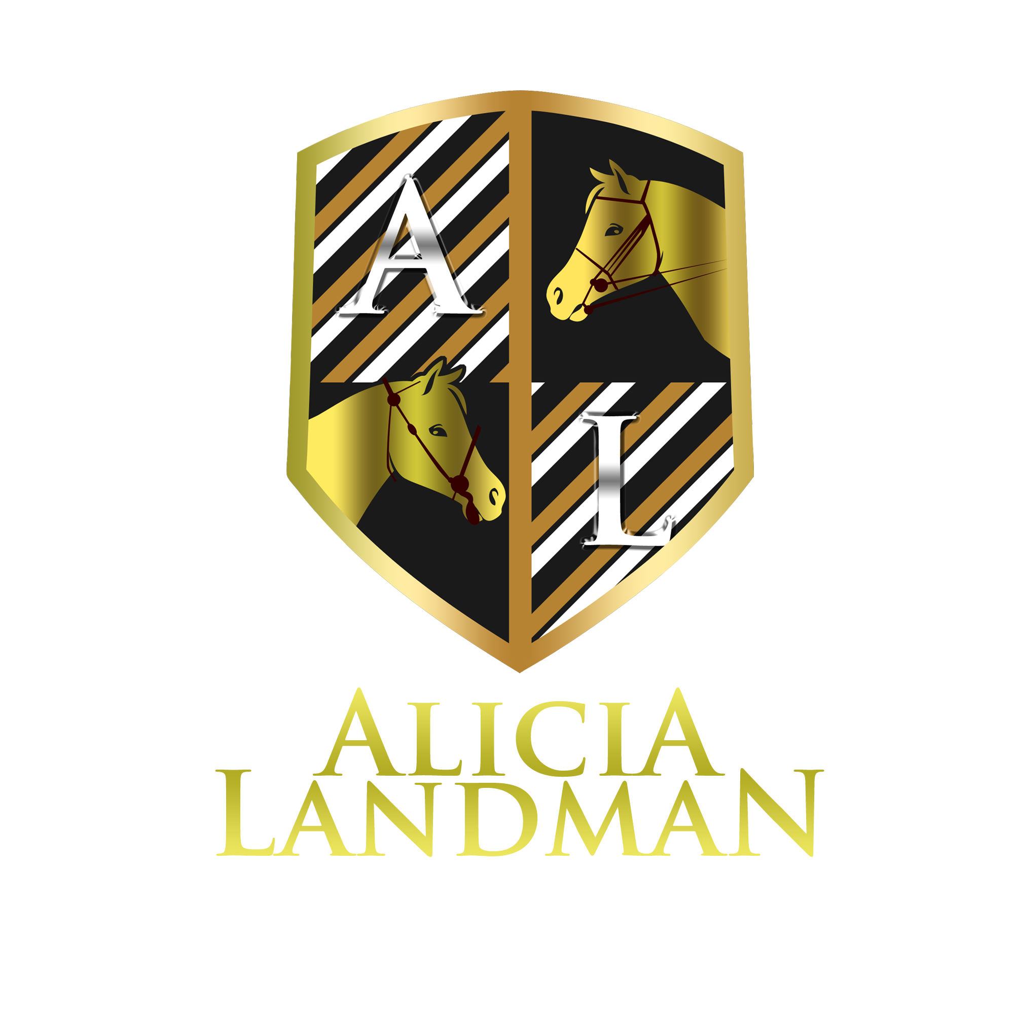 Logo Design by Kenneth Joel - Entry No. 108 in the Logo Design Contest Fun Logo Design for Alicia Landman.