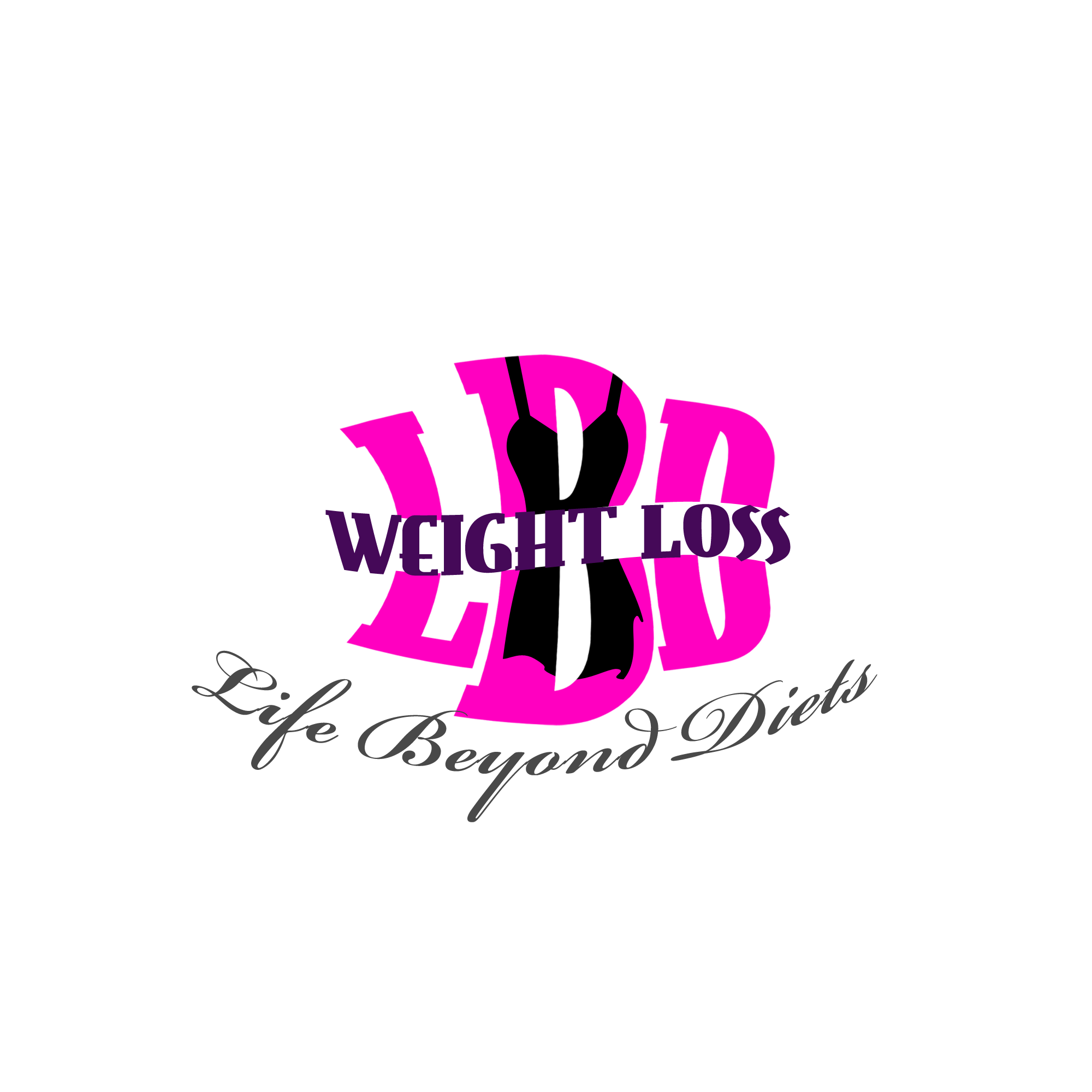 Logo Design by Kenneth Joel - Entry No. 51 in the Logo Design Contest Imaginative Logo Design for LBD Weight Loss.