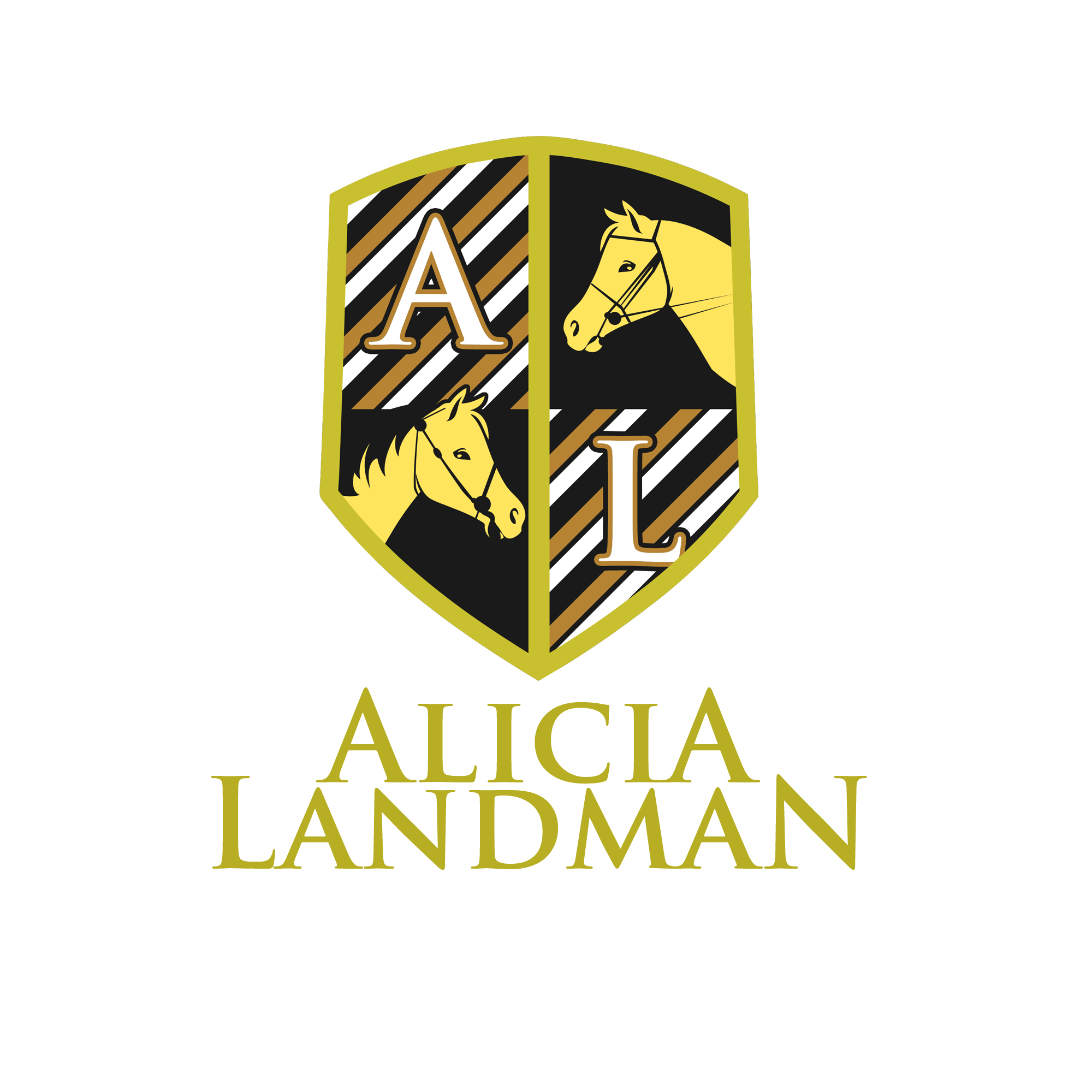 Logo Design by Kenneth Joel - Entry No. 121 in the Logo Design Contest Fun Logo Design for Alicia Landman.