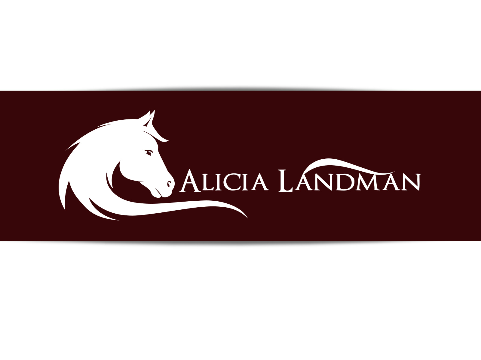 Logo Design by olii - Entry No. 125 in the Logo Design Contest Fun Logo Design for Alicia Landman.