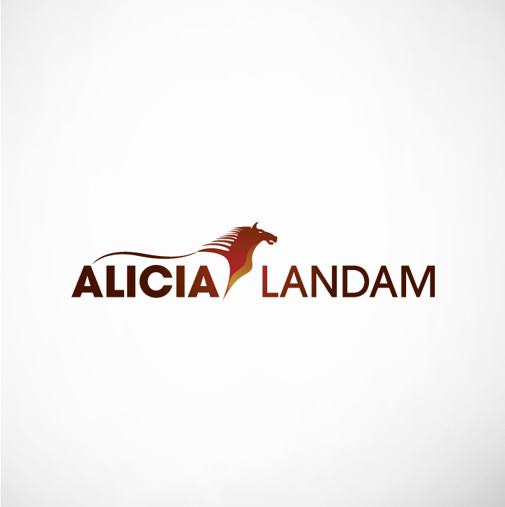 Logo Design by Shujaat Jaffri - Entry No. 129 in the Logo Design Contest Fun Logo Design for Alicia Landman.