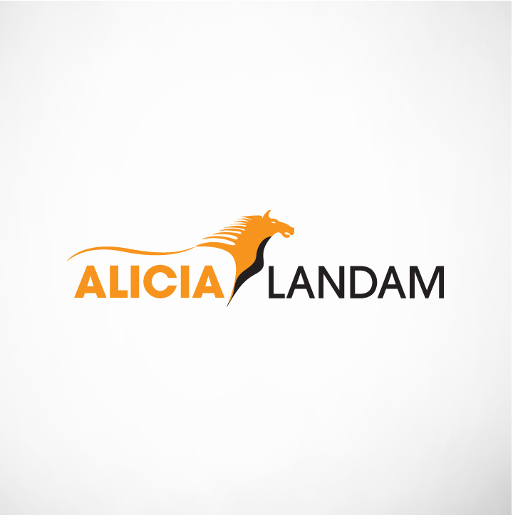 Logo Design by Shujaat Jaffri - Entry No. 130 in the Logo Design Contest Fun Logo Design for Alicia Landman.