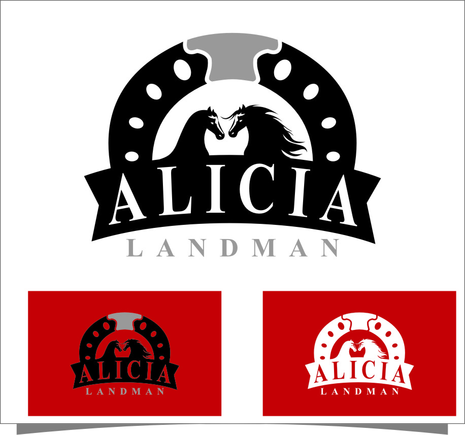 Logo Design by Ngepet_art - Entry No. 135 in the Logo Design Contest Fun Logo Design for Alicia Landman.