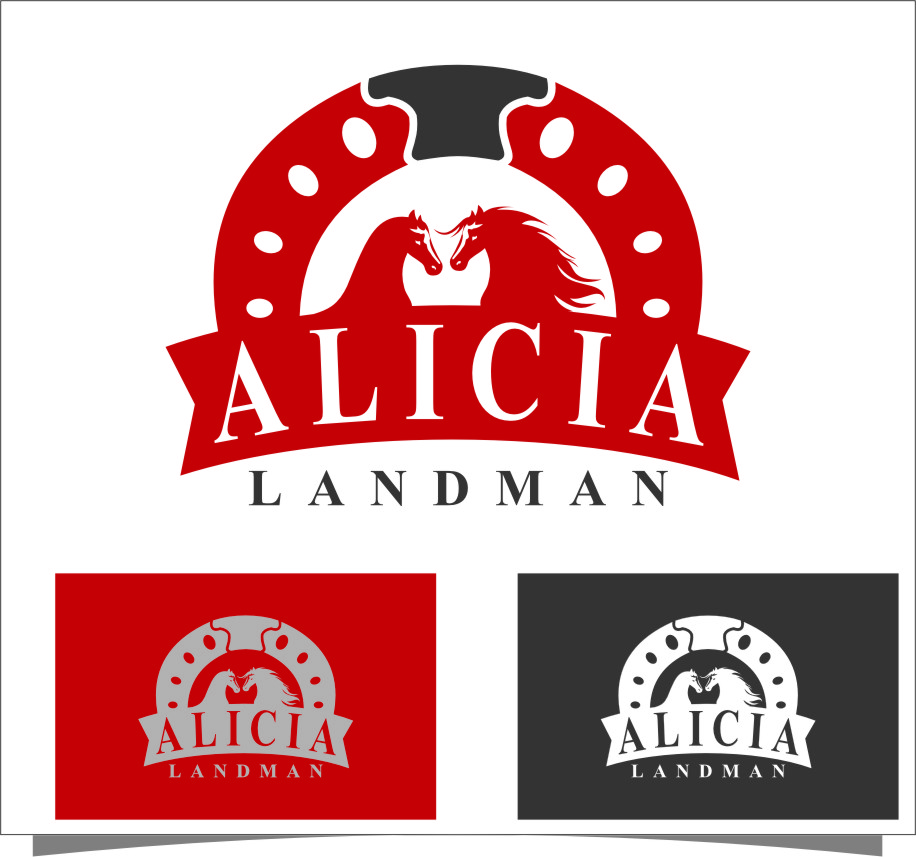 Logo Design by RasYa Muhammad Athaya - Entry No. 136 in the Logo Design Contest Fun Logo Design for Alicia Landman.