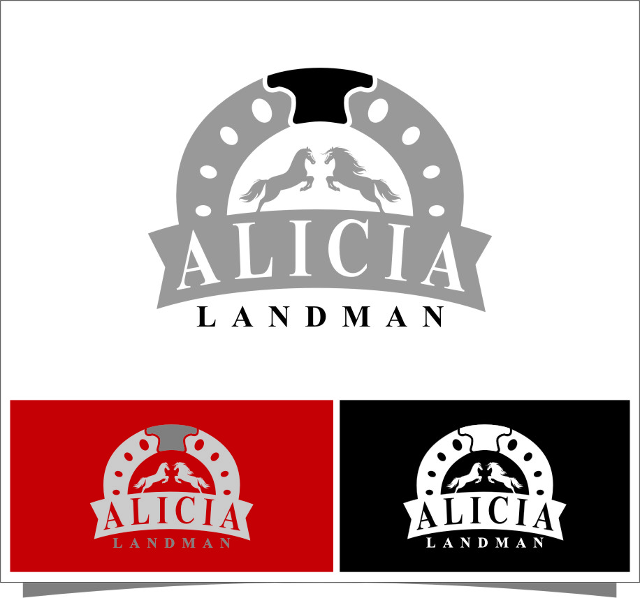 Logo Design by Ngepet_art - Entry No. 139 in the Logo Design Contest Fun Logo Design for Alicia Landman.