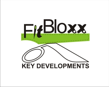 Logo Design by SquaredDesign - Entry No. 76 in the Logo Design Contest FitBloxx (creating block fits for the apparel industry).
