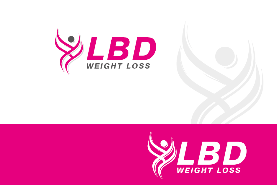 Logo Design by Private User - Entry No. 64 in the Logo Design Contest Imaginative Logo Design for LBD Weight Loss.