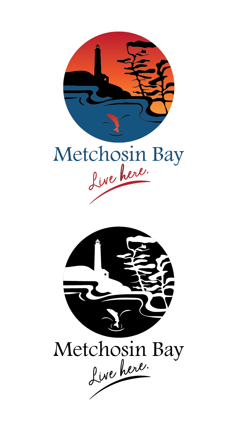 Logo Design by Christina Evans - Entry No. 9 in the Logo Design Contest Logo Design for Metchosin Bay.