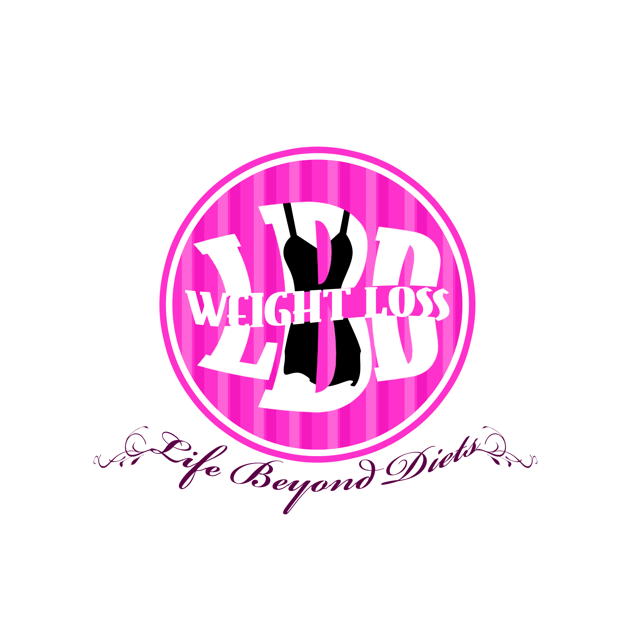 Logo Design by Kenneth Joel - Entry No. 70 in the Logo Design Contest Imaginative Logo Design for LBD Weight Loss.