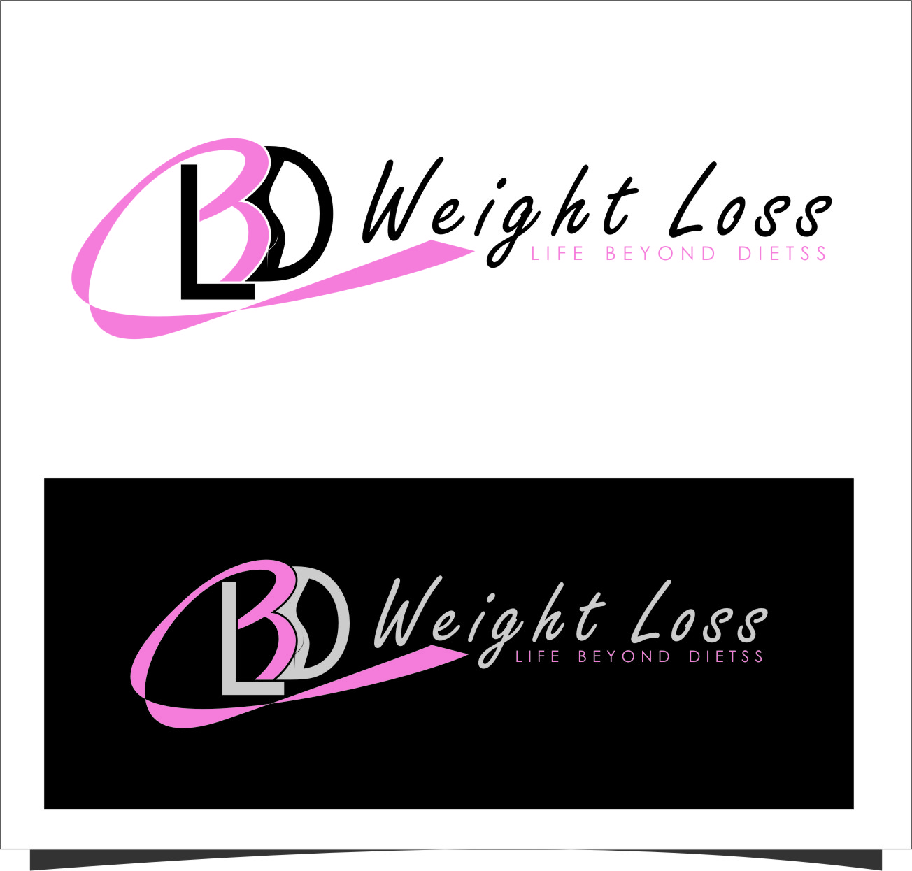 Logo Design by Ngepet_art - Entry No. 89 in the Logo Design Contest Imaginative Logo Design for LBD Weight Loss.