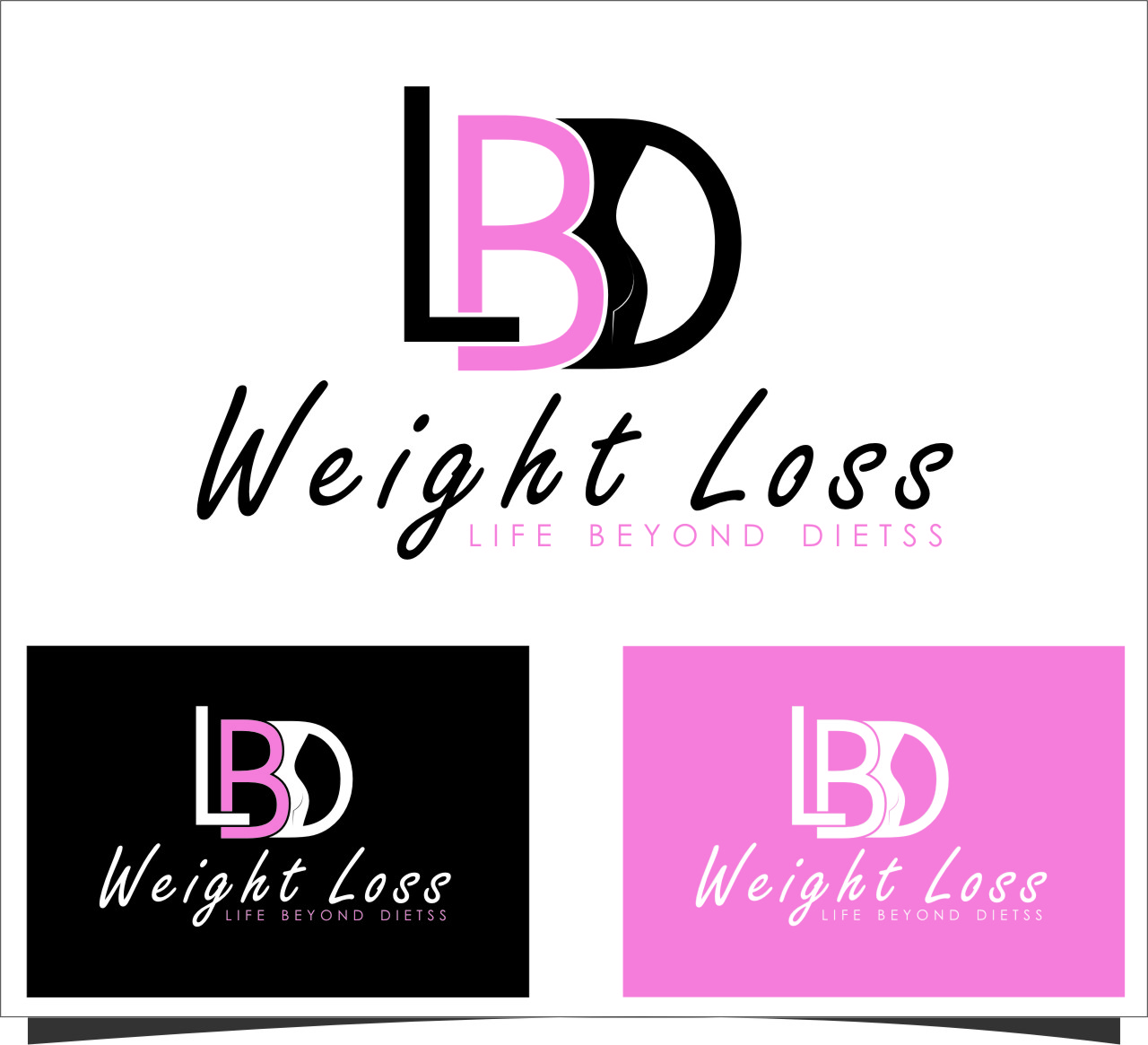 Logo Design by Ngepet_art - Entry No. 91 in the Logo Design Contest Imaginative Logo Design for LBD Weight Loss.