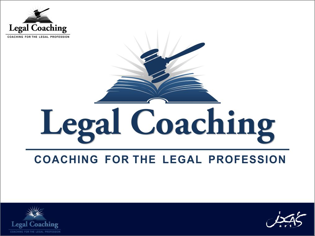 Logo Design by joca - Entry No. 33 in the Logo Design Contest New Logo Design for Legal Coaching.