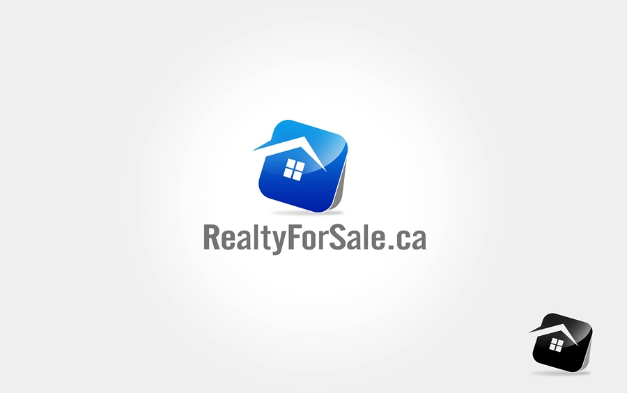 Logo Design by Respati Himawan - Entry No. 4 in the Logo Design Contest Inspiring Logo Design for RealtyForSale.ca.