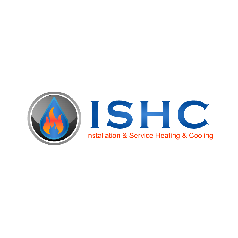 Logo Design by RAJU CHATTERJEE - Entry No. 3 in the Logo Design Contest New Logo Design for Installation & Service Heating & Cooling (ISHC).