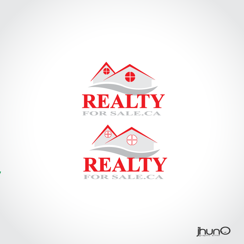 Logo Design by zesthar - Entry No. 6 in the Logo Design Contest Inspiring Logo Design for RealtyForSale.ca.