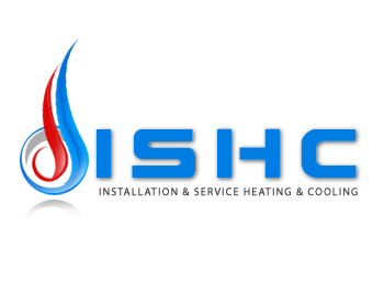 Logo Design by Crystal Desizns - Entry No. 5 in the Logo Design Contest New Logo Design for Installation & Service Heating & Cooling (ISHC).