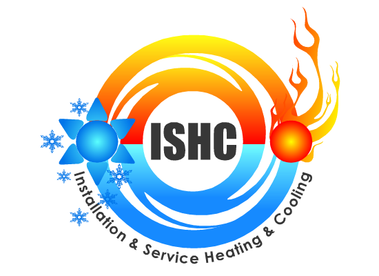Logo Design by Ismail Adhi Wibowo - Entry No. 6 in the Logo Design Contest New Logo Design for Installation & Service Heating & Cooling (ISHC).