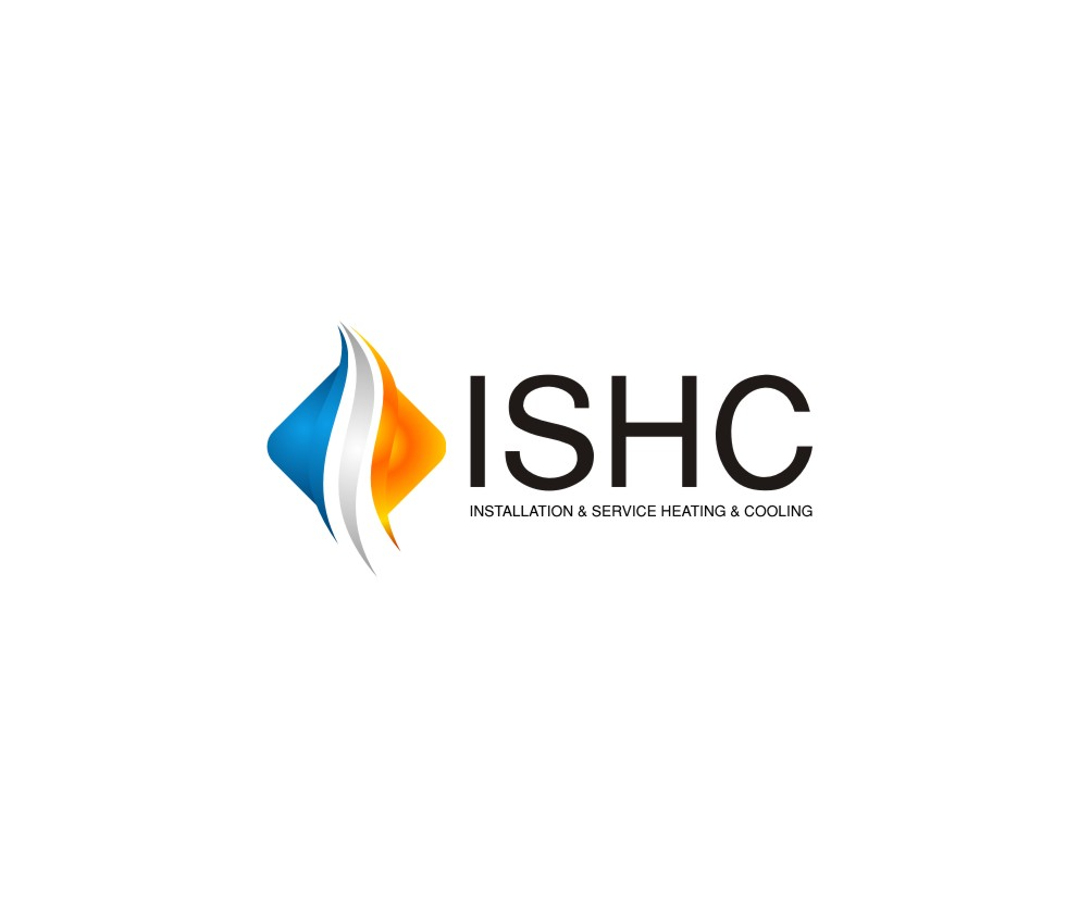 Logo Design by untung - Entry No. 7 in the Logo Design Contest New Logo Design for Installation & Service Heating & Cooling (ISHC).