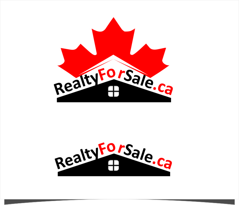 Logo Design by Ngepet_art - Entry No. 17 in the Logo Design Contest Inspiring Logo Design for RealtyForSale.ca.