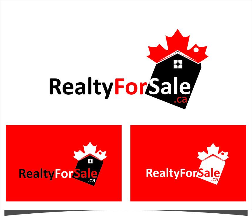 Logo Design by RasYa Muhammad Athaya - Entry No. 20 in the Logo Design Contest Inspiring Logo Design for RealtyForSale.ca.