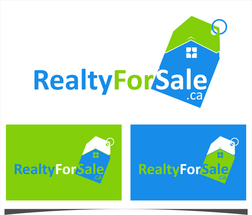 Logo Design by RasYa Muhammad Athaya - Entry No. 21 in the Logo Design Contest Inspiring Logo Design for RealtyForSale.ca.