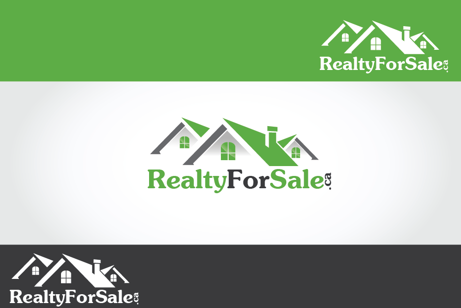 Logo Design by Private User - Entry No. 23 in the Logo Design Contest Inspiring Logo Design for RealtyForSale.ca.