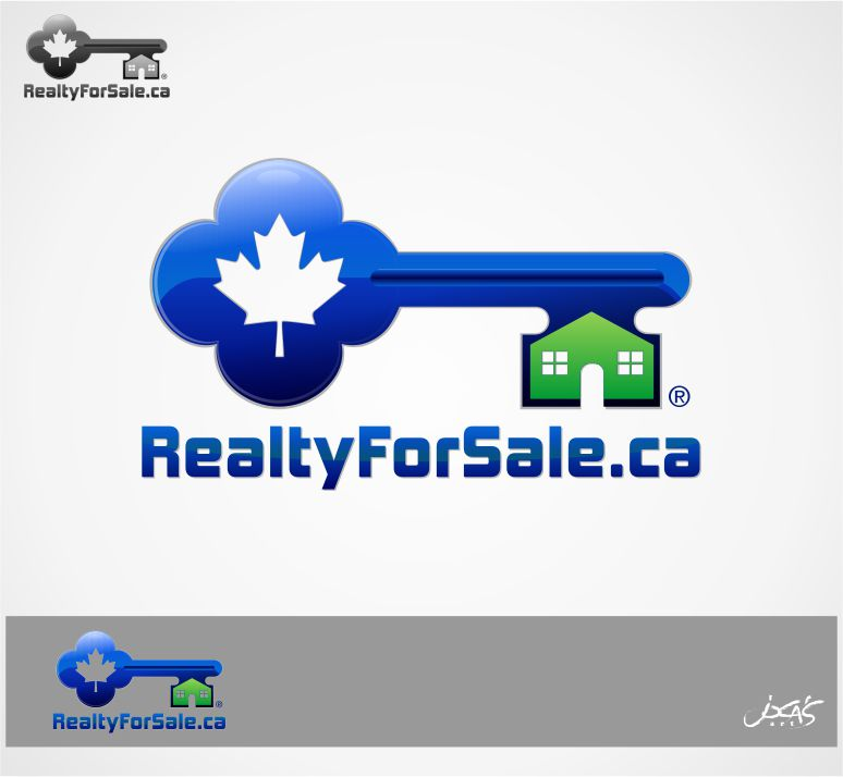 Logo Design by joca - Entry No. 30 in the Logo Design Contest Inspiring Logo Design for RealtyForSale.ca.