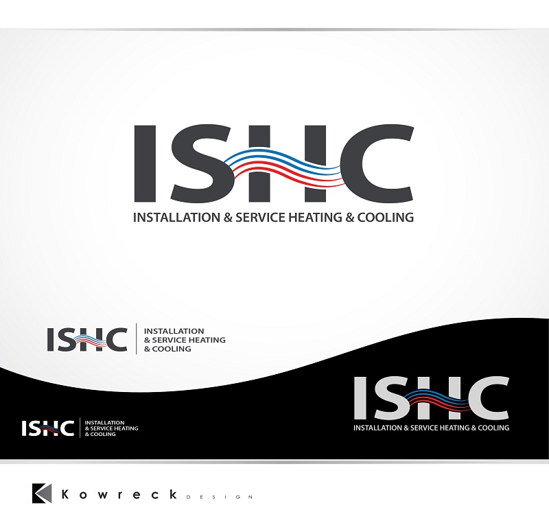 Logo Design by kowreck - Entry No. 8 in the Logo Design Contest New Logo Design for Installation & Service Heating & Cooling (ISHC).