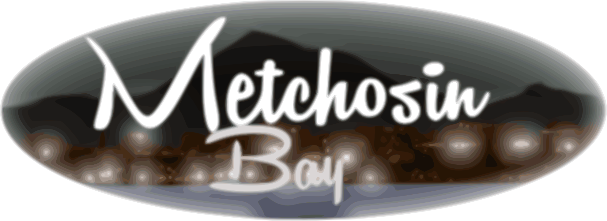 Logo Design by الملا سفيان - Entry No. 22 in the Logo Design Contest Logo Design for Metchosin Bay.
