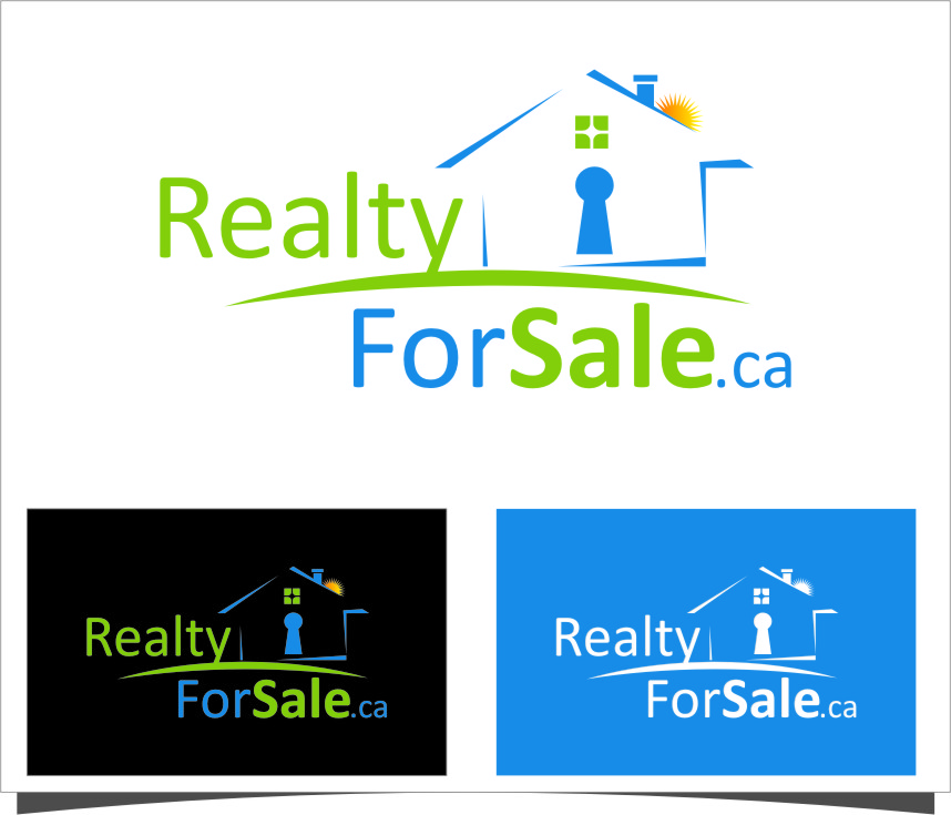 Logo Design by Ngepet_art - Entry No. 39 in the Logo Design Contest Inspiring Logo Design for RealtyForSale.ca.