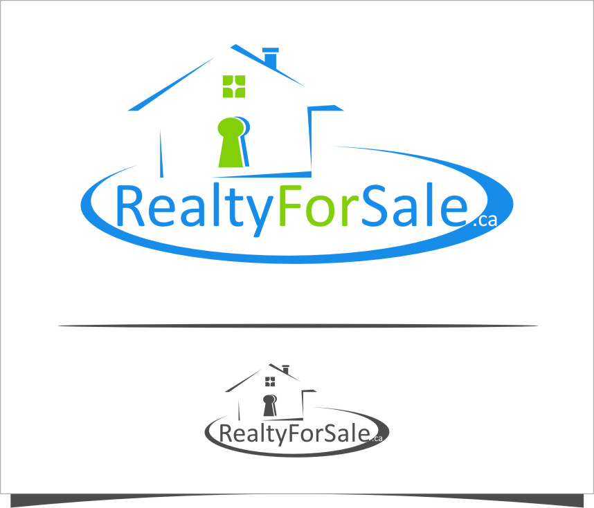 Logo Design by Ngepet_art - Entry No. 40 in the Logo Design Contest Inspiring Logo Design for RealtyForSale.ca.