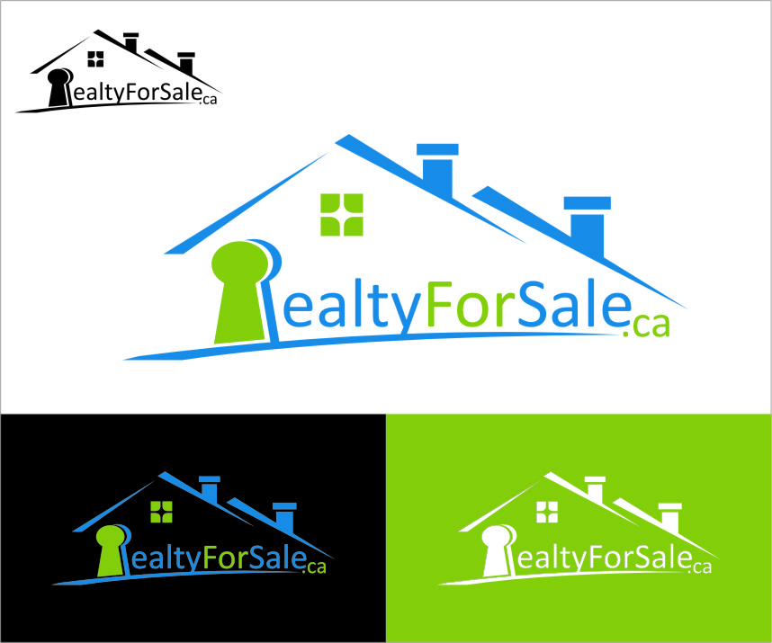Logo Design by RoSyid Rono-Rene On Java - Entry No. 41 in the Logo Design Contest Inspiring Logo Design for RealtyForSale.ca.