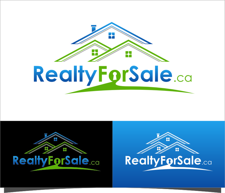 Logo Design by Ngepet_art - Entry No. 42 in the Logo Design Contest Inspiring Logo Design for RealtyForSale.ca.