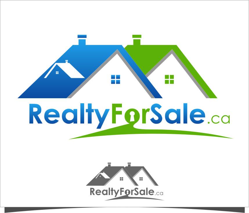 Logo Design by RasYa Muhammad Athaya - Entry No. 43 in the Logo Design Contest Inspiring Logo Design for RealtyForSale.ca.