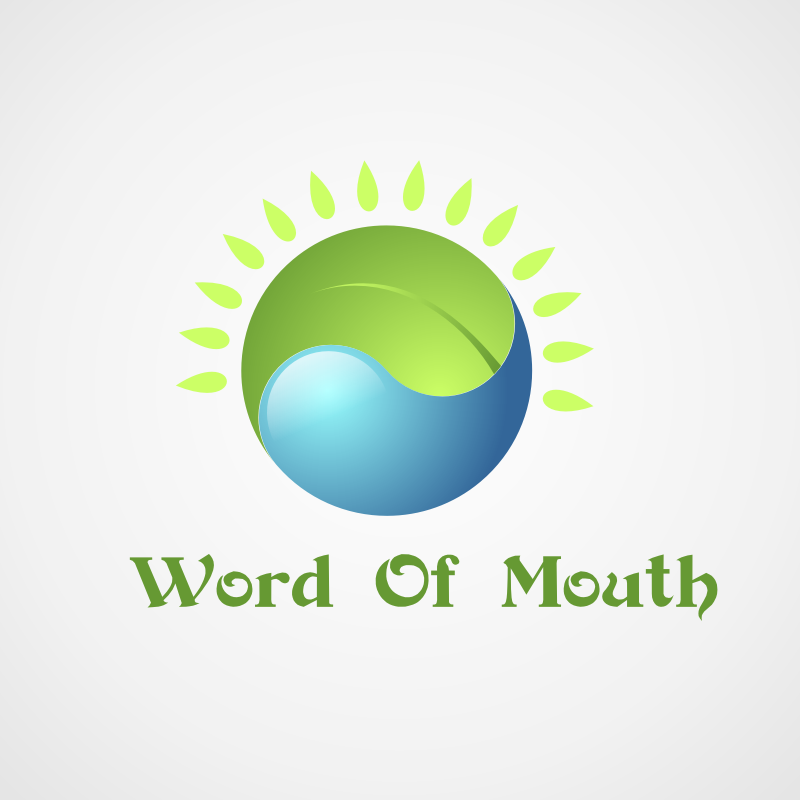 Logo Design by Rudy - Entry No. 1 in the Logo Design Contest Word Of Mouth.