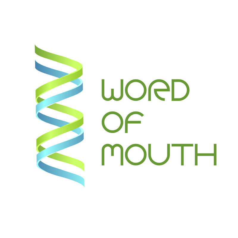 Logo Design by Rudy - Entry No. 3 in the Logo Design Contest Word Of Mouth.