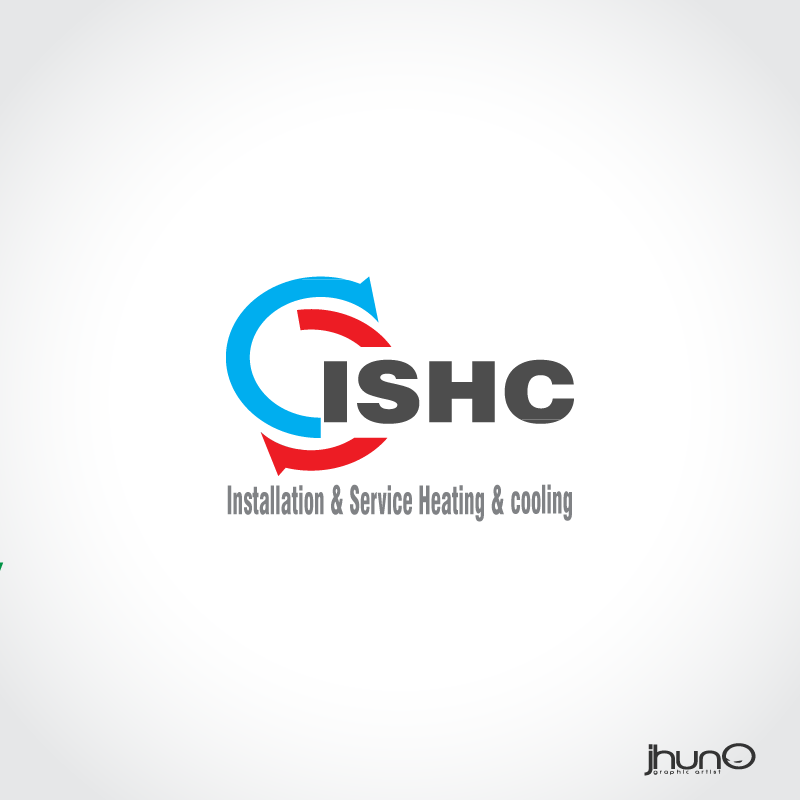 Logo Design by zesthar - Entry No. 16 in the Logo Design Contest New Logo Design for Installation & Service Heating & Cooling (ISHC).