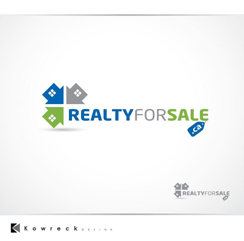 Logo Design by kowreck - Entry No. 53 in the Logo Design Contest Inspiring Logo Design for RealtyForSale.ca.