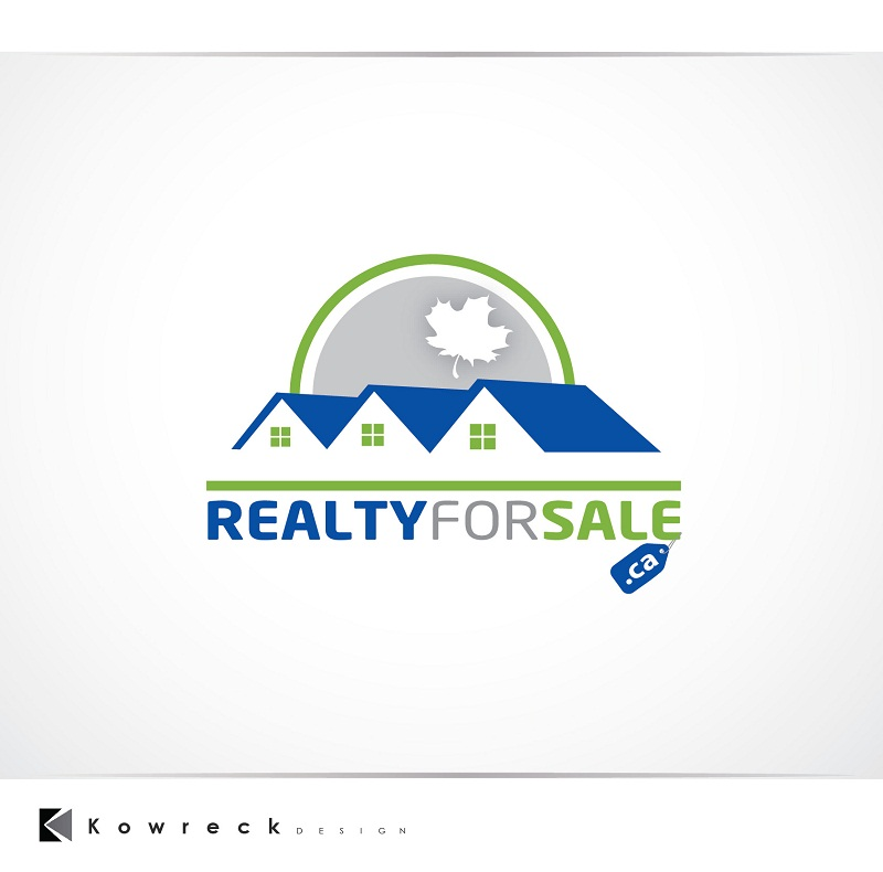 Logo Design by kowreck - Entry No. 54 in the Logo Design Contest Inspiring Logo Design for RealtyForSale.ca.