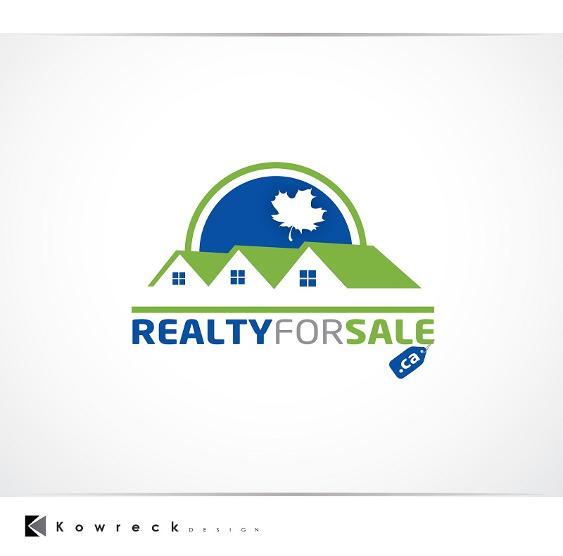 Logo Design by kowreck - Entry No. 55 in the Logo Design Contest Inspiring Logo Design for RealtyForSale.ca.