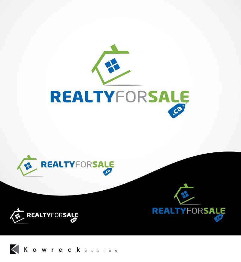 Logo Design by kowreck - Entry No. 56 in the Logo Design Contest Inspiring Logo Design for RealtyForSale.ca.
